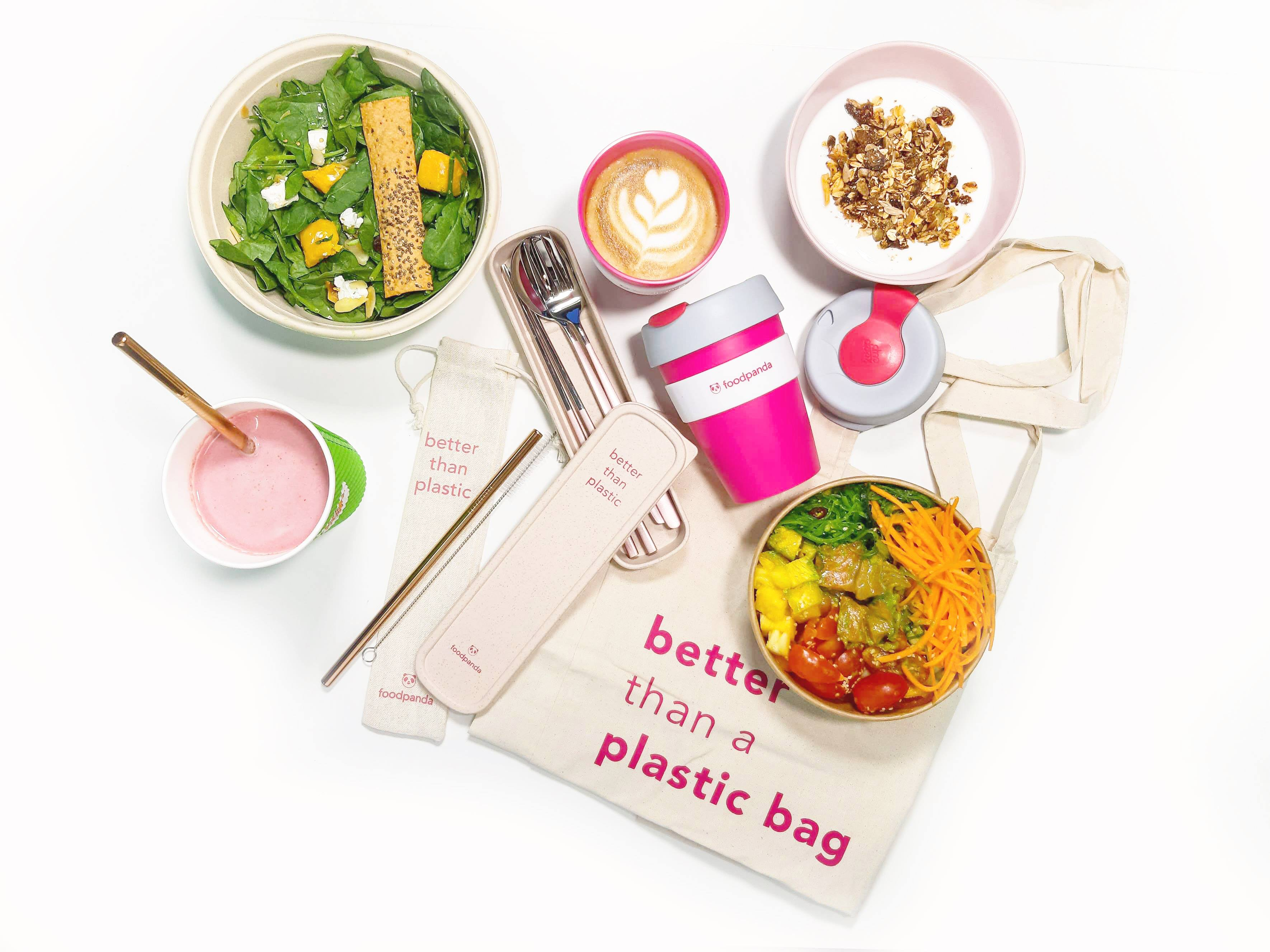 Going Green with Food Delivery - Doyenne Singapore